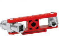 Univerzální klíč na rozvodné skříně SuBMaster Bau KNIPEX, délka ramen: 97mm