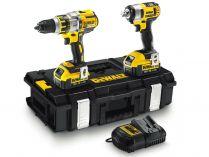 Sada aku nářadí DeWALT DCK254M2-QW: DCD995 + DCF880 + 2x 18V/4.0Ah + kufr