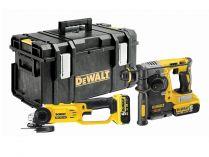Sada aku nářadí DeWALT DCK272P2-QW: DCG412 + DCH273 + 2x 18V/5.0Ah + kufr