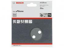 5x Brusný kotouč do excentrické brusky Bosch F355 - 115mm, zr.1200, 8 otvorů, suchý zip