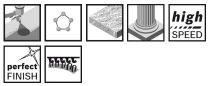 5x Brusný kotouč do excentrické brusky Bosch F355 - 150mm, zr.320 6 otvorů, suchý zip (2608605129) Bosch příslušenství
