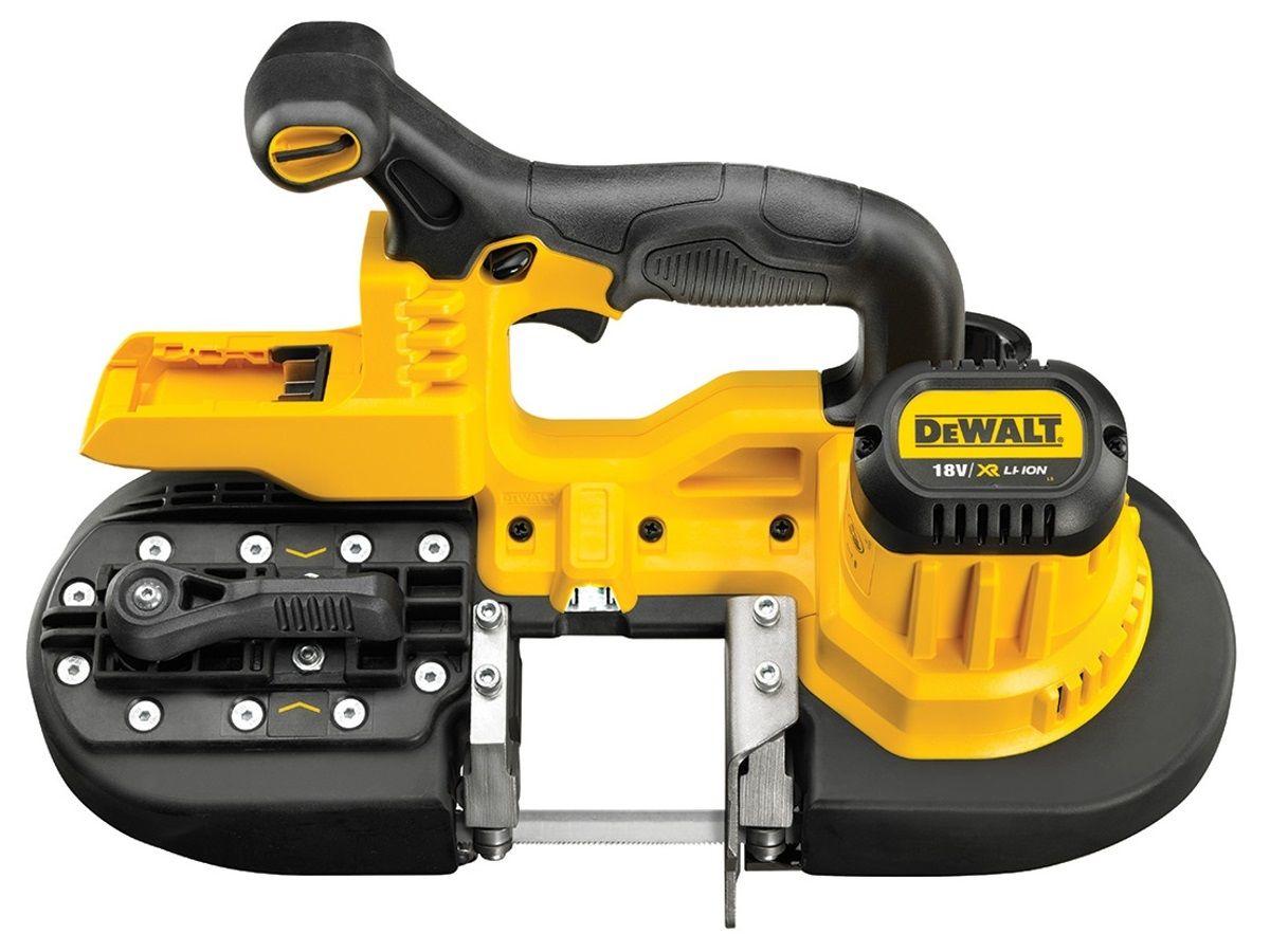 Aku pásová pila DeWalt DCS371N-XJ - 18V, 3.9kg, bez akumulátoru a nabíječky