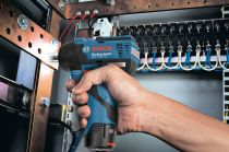 Aku rázový bezuhlíkový utahovák Bosch GDR 12V-115 Professional - 12V, 115Nm, 0.9kg, bez aku (06019E0101) Bosch PROFI
