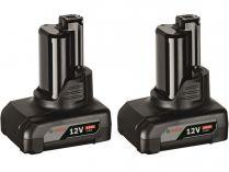 2x Akumulátor Bosch GBA 12V 4.0Ah Professional - 12V/4.0Ah, 0.175kg