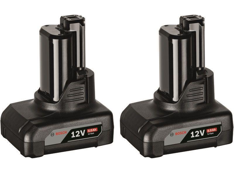 2x Akumulátor Bosch GBA 12V 4.0Ah Professional - 12V/4.0Ah, 0.175kg (1600Z00045) Bosch příslušenství
