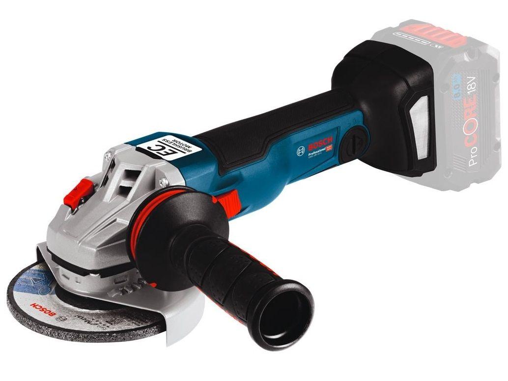 Aku úhlová bruska Bosch GWS 18V-10 C Professional - 18V, 125mm, 2.0kg, bez akumulátoru a nabíječky (06019G310A) Bosch PROFI