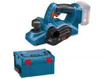 Bosch GHO 18 V-LI  Professional - 18V, 82mm, kufr, bez aku, aku hoblík