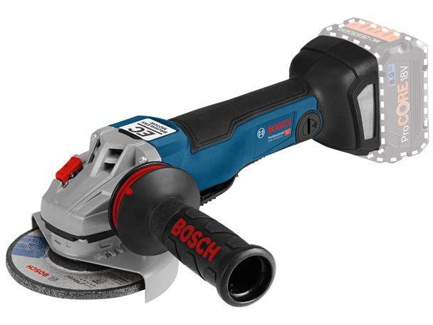 Bezuhlíková aku úhlová bruska Bosch GWS 18V-10 PC Professional - 18V, 125mm, 2.0kg, bez akumulátoru a nabíječky (06019G3E0A) Bosch PROFI