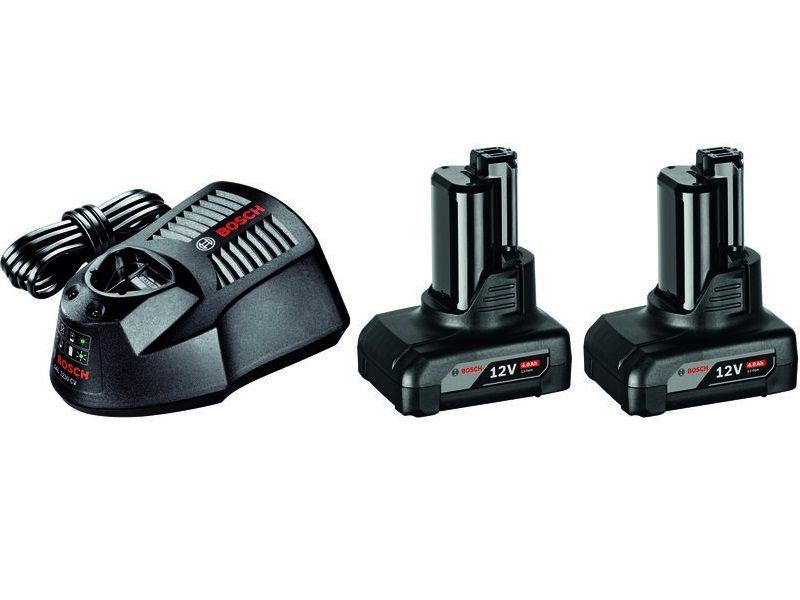 Bosch Startovací sada 2× GBA 12V 4.0 Ah + GAL 1230 CV Professional (1600Z00046) Bosch příslušenství