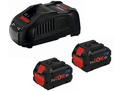 Bosch Startovací sada: 2× ProCORE18V 8.0Ah + 1× GAL 1880 CV Professional (1600A01C4K) Bosch příslušenství