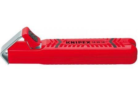 KNIPEX - nůž odizolovací - 130mm - k odizolování kabelů kruhového průřezu Ø 4.0-16.0m (162016SB)