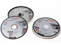 Řezné kotouče Bosch Standard for Inox 125mm/1,0 na železo, kov a nerez - 10ks, v plechovém boxu