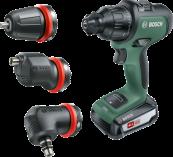 Aku vrtačka bez příklepu Bosch AdvancedImpact 18 - 2x aku 18V/2.5Ah, 32Nm, 1.1kg, nástavce, kufr (06039B5103) Bosch HOBBY