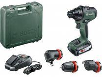 Bosch AdvancedDrill 18 - 2x 18V/2.5Ah, 32Nm, 1kg, sklíčidlo, kufr, aku vrtačka bez příklepu
