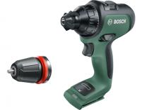 Bosch AdvancedDrill 18 - 18V, 32Nm, 1kg, bez aku, aku vrtačka bez příklepu
