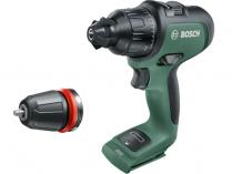 Bosch AdvancedImpact 18 - 18V, 32Nm, 1.1kg, bez aku, aku vrtačka bez příklepu