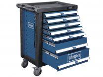 Dílenský vozík s nářadím Scheppach TW 1000 - 7 zásuvek, 263 dílů, 66kg