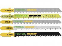 Festool STS-Sort/25 W 25-dílná sada pilových plátků
