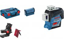 Křížový laser Bosch GLL 3-80 C Professional - 0.9kg, příslušenství, pouzdro