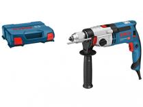Příklepová vrtačka Bosch GSB 24-2 Professional - 1100W, 2.9kg, rychloupínací sklíčidlo, kufr