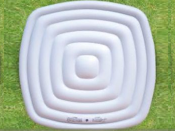 Nafukovací termokryt MSpa - čtvercový (4 osoby) pro mobilní vířivku MSpa ALPINE M-009LS LITE a B-090, 1.75kg (171143) Hanscraft