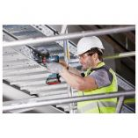 Bezuhlíkový aku rázový utahovák Bosch GDR 18V-200 C Professional - 2x aku 18V/4.0Ah, 200Nm, 1.2kg (06019G4206) Bosch PROFI