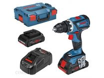 Bosch GSR 18V-60 C Professional - 2x 18V/4.0Ah, 60Nm, 1.7kg, kufr, bezuhl. aku vrtačka bez ...