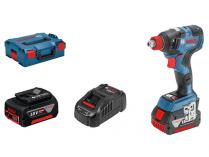 Bosch GDX 18V-200 C Professional - 2x 18V/5.0Ah, 200Nm, 1.2kg, bezuhlíkový aku rázový utahovák