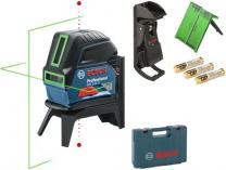 Bosch GCL 2-15 G Professional - 3x 1.5V LR6, profi křížový laser + držák RM 1