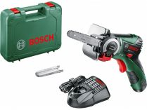 Aku řetězová pila Bosch EasyCut 12 - 1x 12V/2.5Ah, 0.9kg, kufr