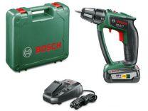 Bosch PSR 18 LI-2 - 1x 18V/2.5Ah, 32Nm, 1.25kg, kufr, aku vrtačka bez příklepu