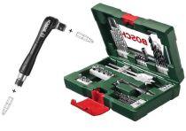 Bosch 41dílná sada vrtáků a bitů s oboustranným držákem bitů