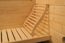Zobrazit detail - Ergonomická zádová opěrka do sauny a infrasauny