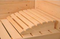Opěrka hlavy Premium do sauny a infrasauny