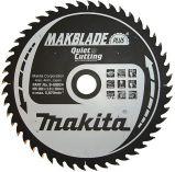 Makita B-08763 MAKBLADE PLUS 255x30mm, 72z/2.4mm, pilový kotouč na dřevo do pokosové a stolní pily