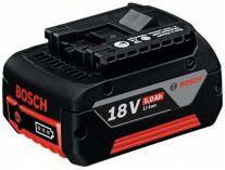 Zásuvný akumulátor Bosch GBA 18V/5,0 Ah M-C Li-ion Professional baterie Cool-Pack 1600A002U5