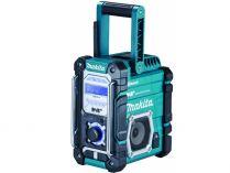 Aku stavební rádio Makita DMR112 - 7.2-18V, Bluetooth, 4.3kg, bez aku