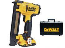 Bezuhlíková aku sponkovačka elektrikářská DeWalt DCN701D2-QW - 2x 18V/2.0Ah