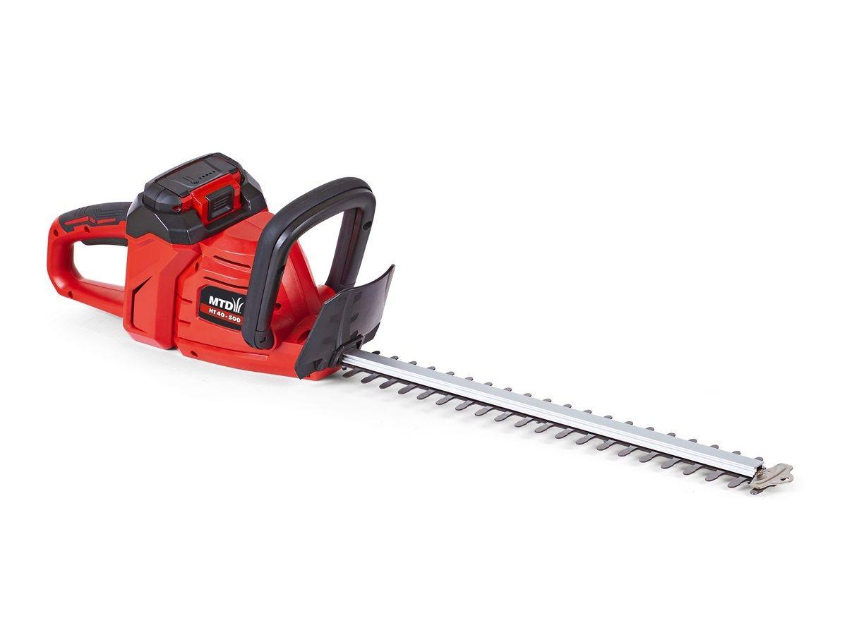Aku plotostřih - aku nůžky na živý plot MTD HT40-500 - 40V, 50cm, 2.8kg, bez akumulátoru a nabíječky (41AG0-QO600)