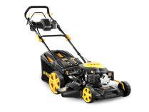 Riwall PRO RPM 5135 E - mulčování, elektrostart,146cm3, 51cm, 39kg, benzinová sekačka s pojezdem
