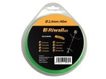 Struna do vyžínače se čtvercovým průřezem Riwall - Ø 2.5mm, 40m