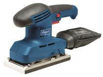 Vibrační bruska Scheppach ES240 - 240W, 93x186mm, 1.9kg, sáček, brusné pásy