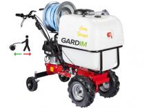 Vysokotlaký benzin. pojízdný postřikovač Gardim Sprayer - 29 L/min, 9m, 120L, 85kg
