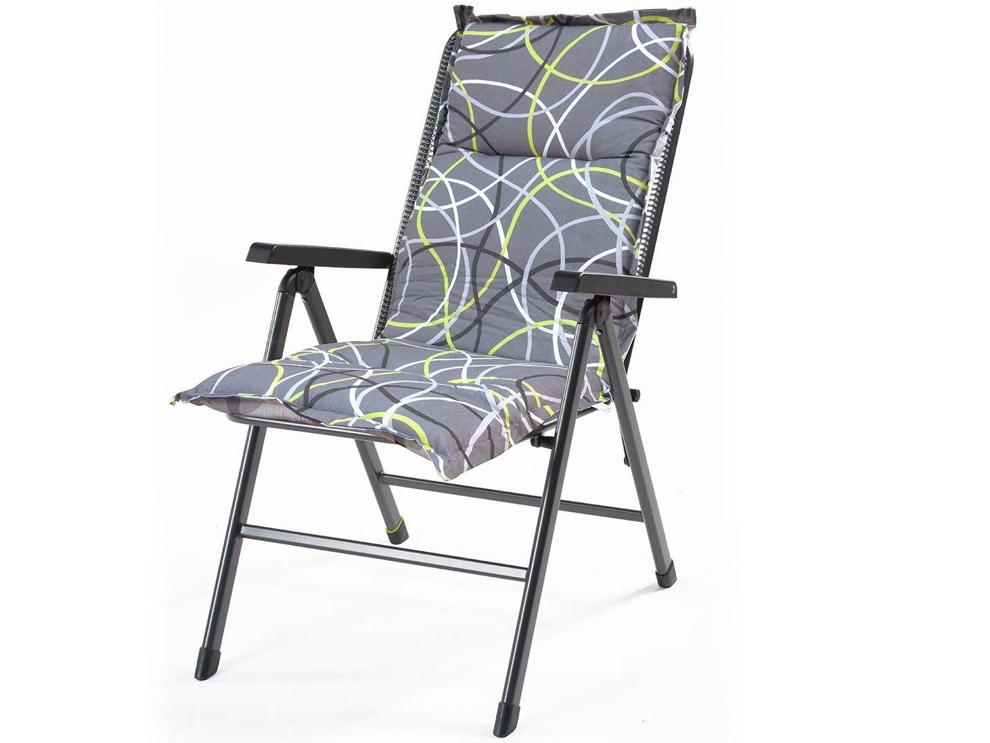 Polstr pro klasické židle Creador Hartman grey - 120 x 50 x 6 cm (HTM-grey-120x50x6)