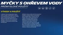 Michelin MPX 150 HL vysokotlaký čistič s ohřevem vody + Dárek