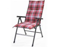 Polstr pro klasické židle Creador Hartman red - 100x50x6cm