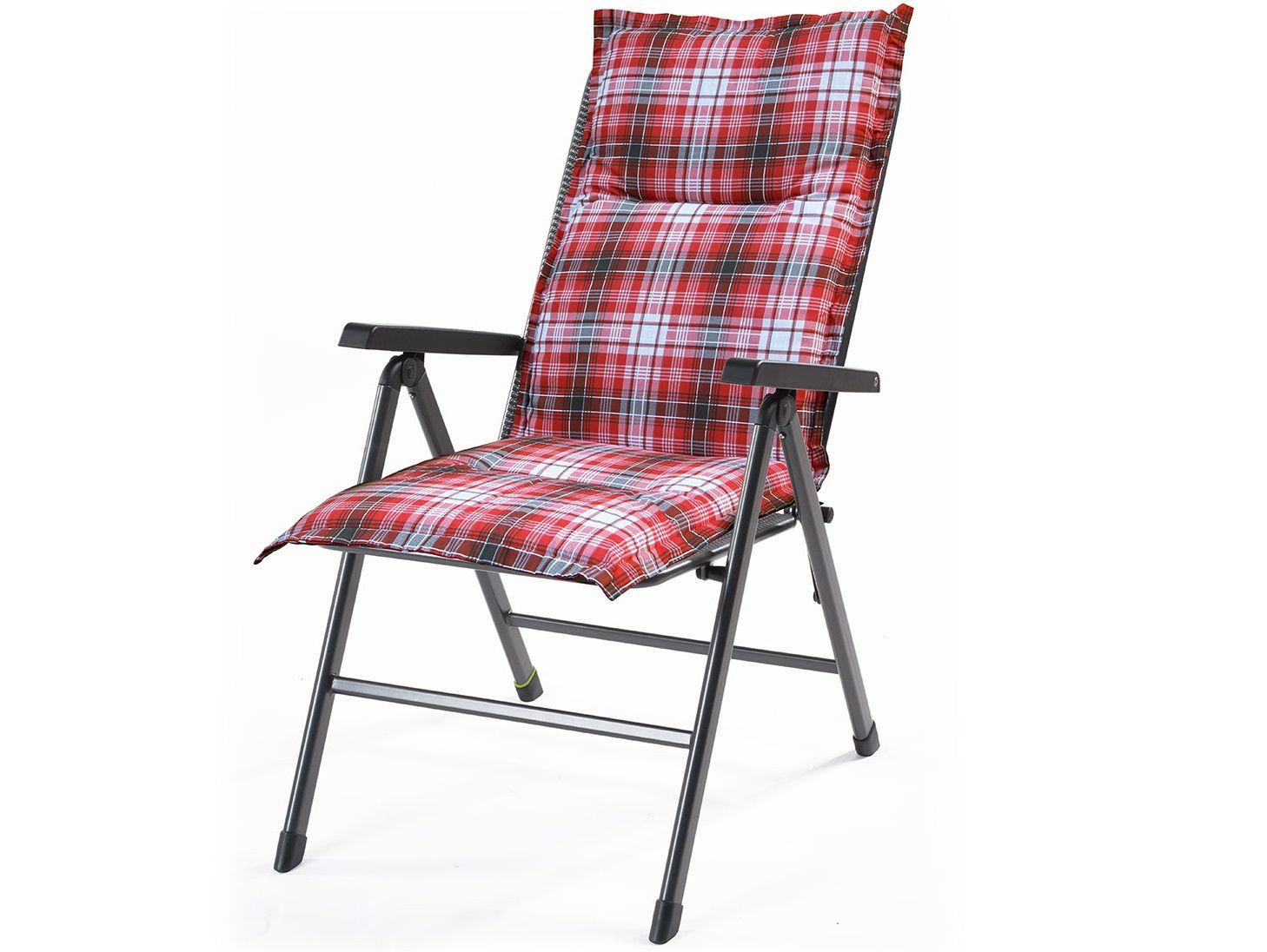 Polstr pro klasické židle Creador Hartman red - 100 x 50 x 6 cm (HTM-red-100x50x6)
