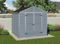 Palram Skylight 8x8 šedý - 223x223x228cm, polykarbonátový zahradní domek