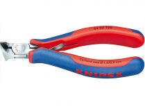 Kleště štípací čelní KNIPEX ESD - 120mm - pro elektroniku, se šikmými břity a malou fazetou