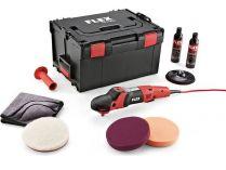 Úhlová leštička FLEX PE 14-2 150 P-Set - 200mm, 1410W, M14, 2.3kg, příslušenství, kufr